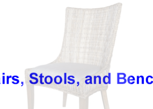 Chairs, Stools, and Benches
