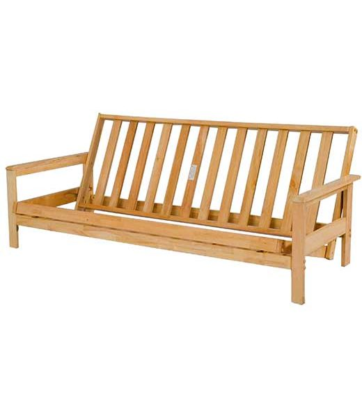 Albany Futon Frame-Affordable Portables Chicago