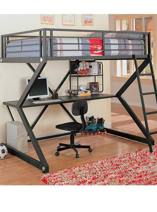 Bunk Bed with Desk Combination