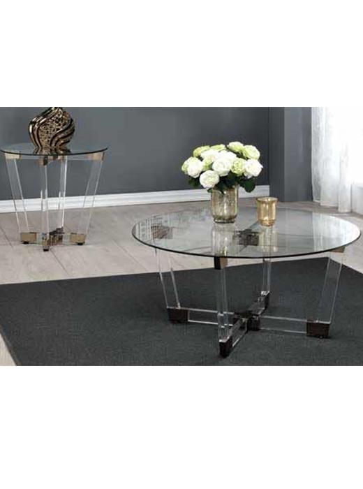 Acrylic End Table ...