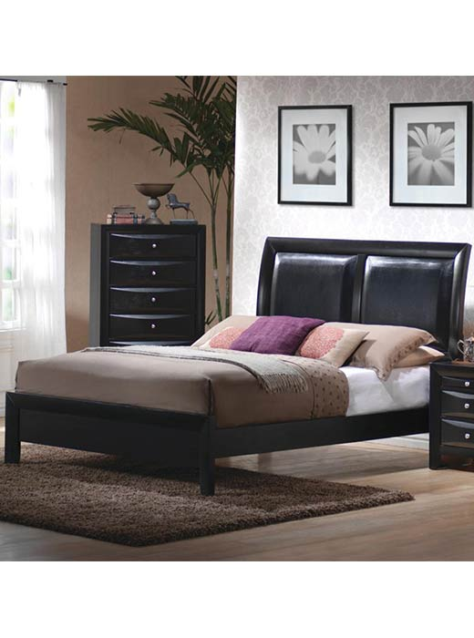 Briana Bed Queen Affordable Portables