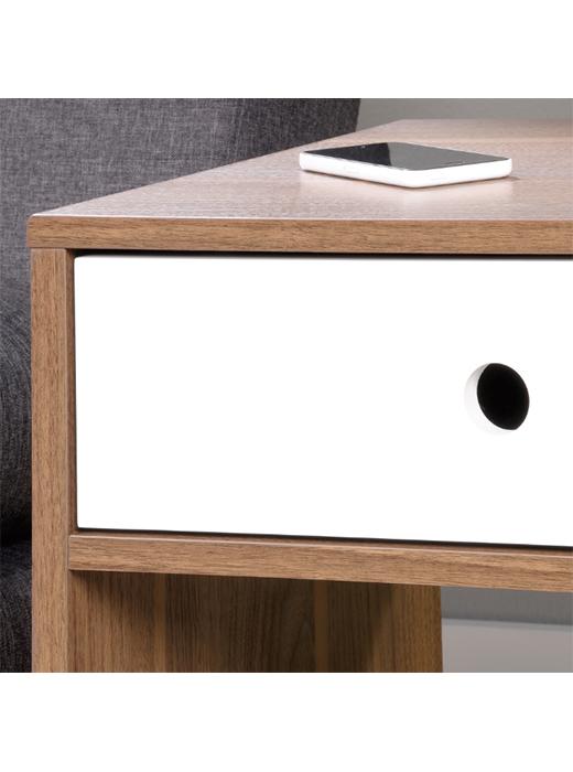 Hidden storage side table affordable portables for Hidden storage side table