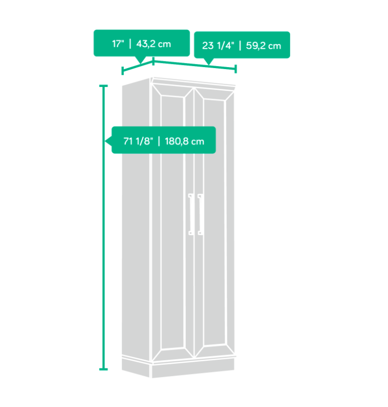 Storage Cabinet Dimensions Affordable Portables