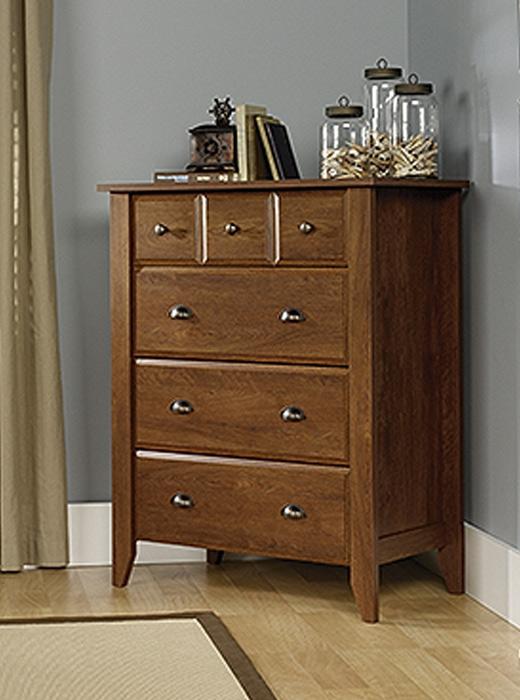 shoal creek oiled oak finish 4 drawer chest affordable portables. Black Bedroom Furniture Sets. Home Design Ideas