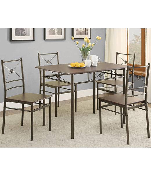 5 Piece Dining Set Affordable Portables