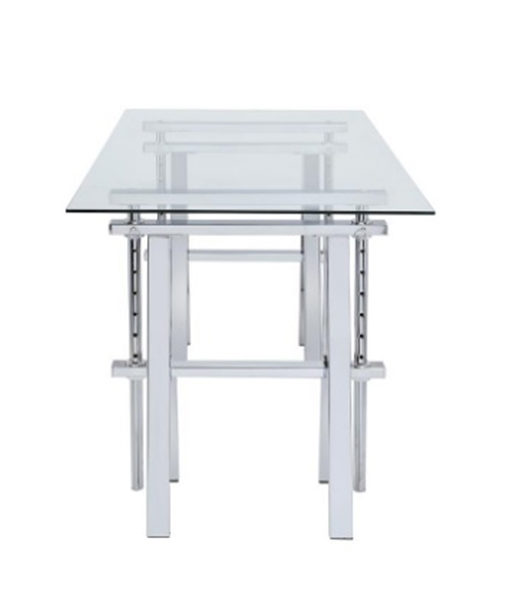 Adjustable Glass Desk Affordable Portables