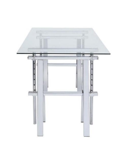Adjustable Glass Desk Affordable Portables