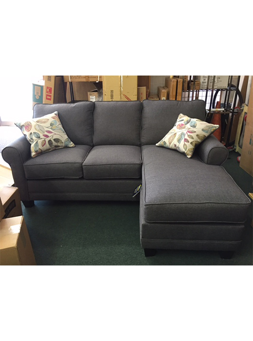 Jitterbug Grey Sofa And Chaise Affordable Portables