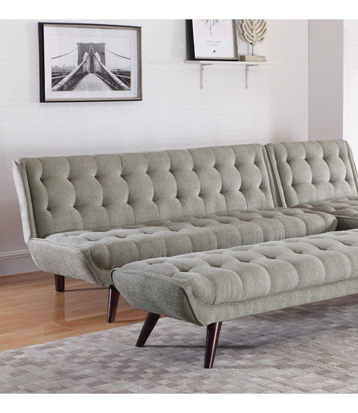 Click Natalia Mid Century Modern Convertible Sofa Bed