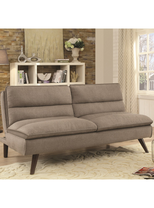Taupe Sofa Sleeper Cap500320 Affordable Portables