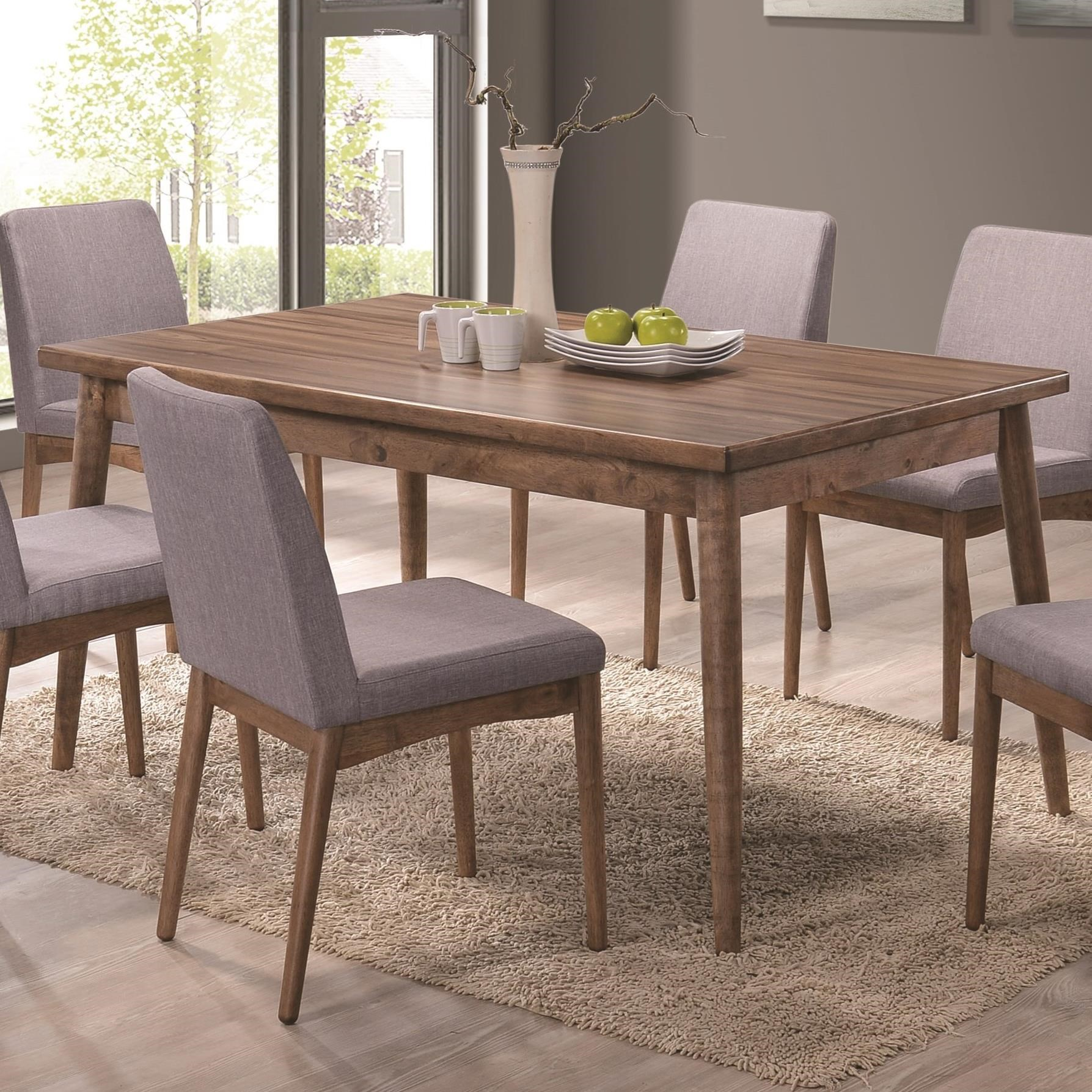 The pasquil mid century modern dining table