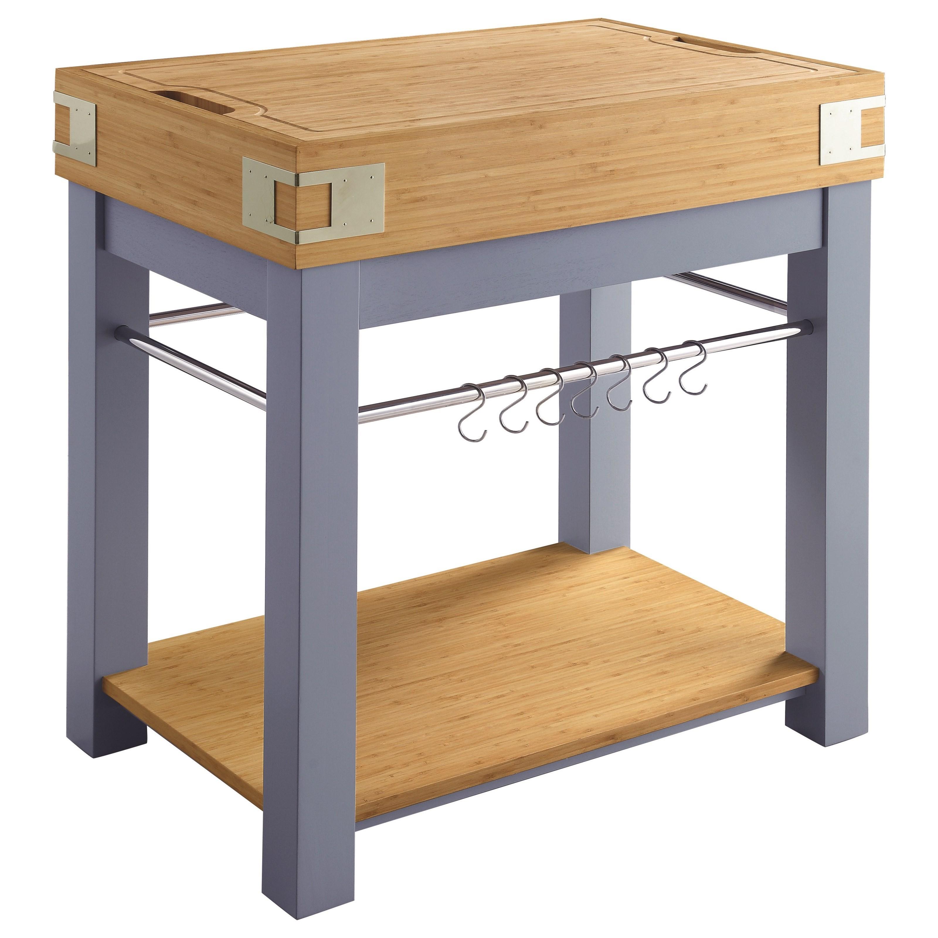 Merveilleux ... Scott Living CAP102987 Kitchen Cart Cutting Board Affordable Portables