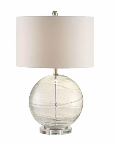 Clear Glass Globe Lamp