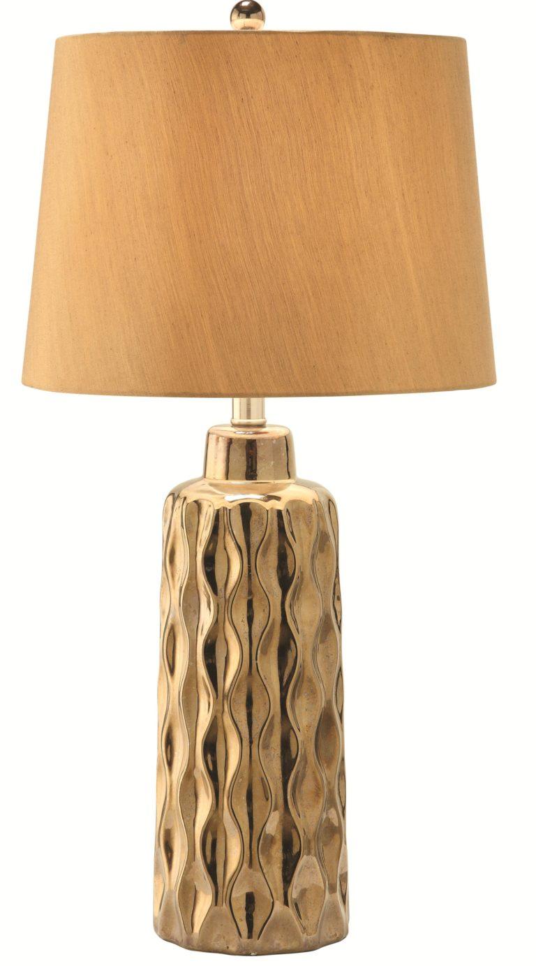 Golden Table Lamp