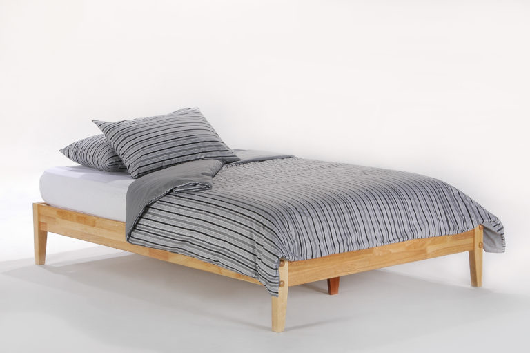P-Series Basic Bed Full Natural Affordable Portables Chicago Evanston
