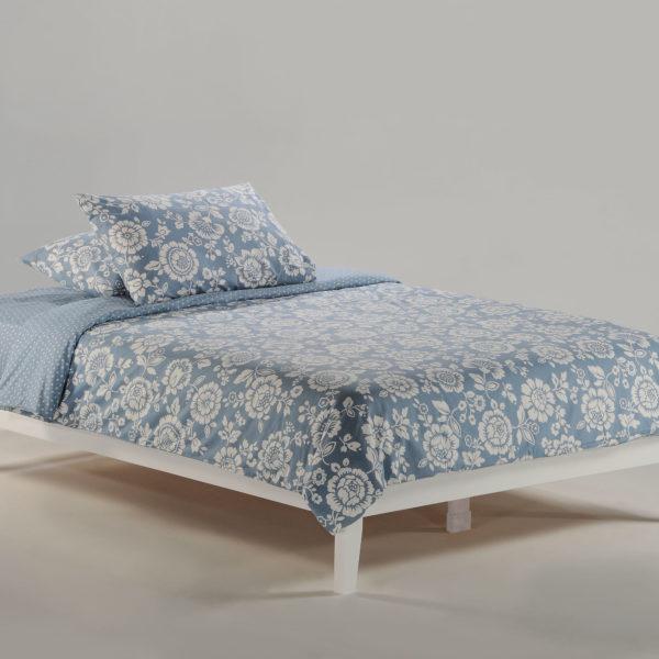 P-Series Basic Bed Full White Affordable Portables Chicago Evanston
