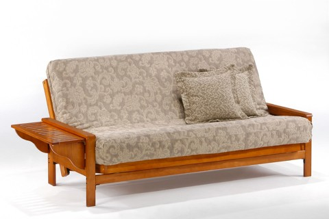 Winston Honey Oak Futon Frame