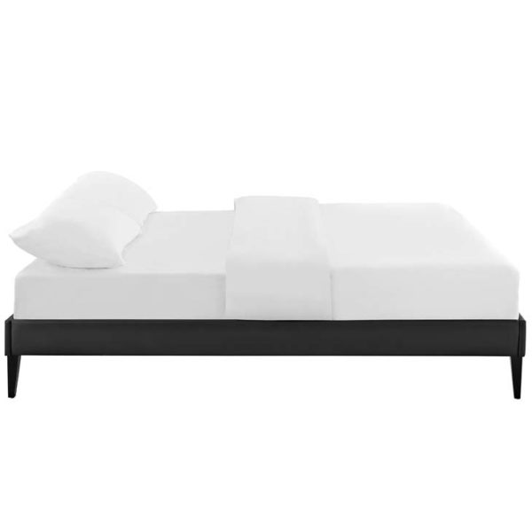 TESSIE FULL BED FRAME Black Affordable Portables