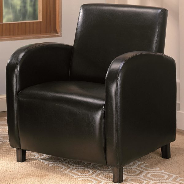 Accent Chair Dark Brown