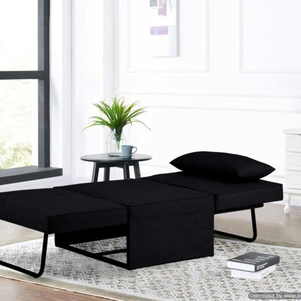 Chair Bed Dark Grey Affordable Portables