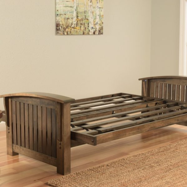 WASHINGTON FULL FUTON RUSTIC-WALNUT AFFORDABLE PORTABLES