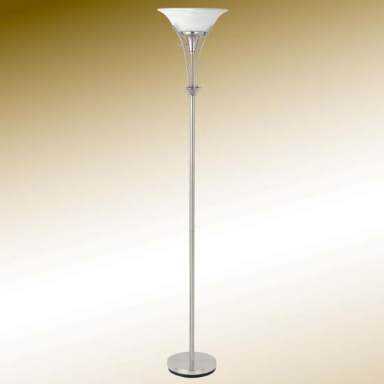 Floor Lamp Silver Affordable Portables