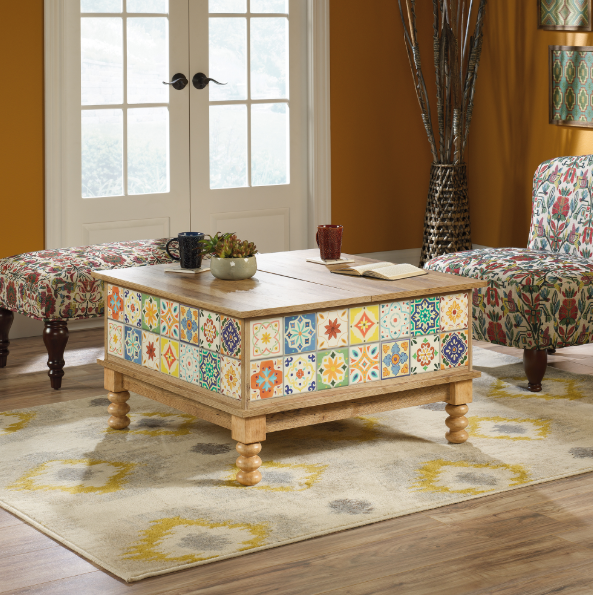 Lift Top Coffee Table - Affordable Portables