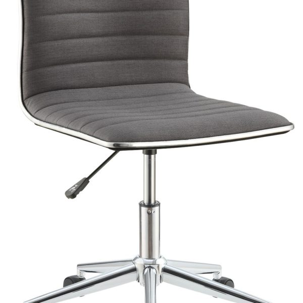 Office Chair Chrome Finish