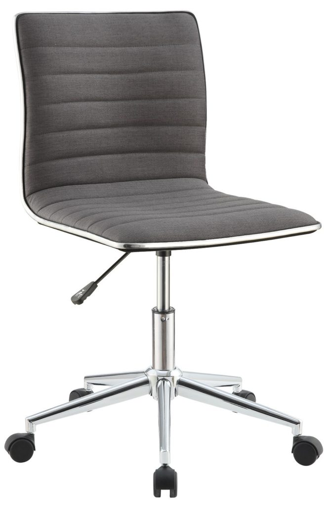 Office Chair Chrome Finish