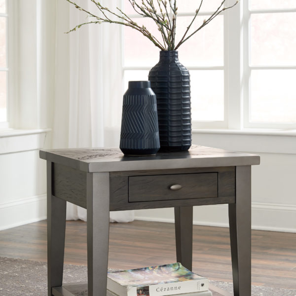 Affordable Portables End Table Branbury