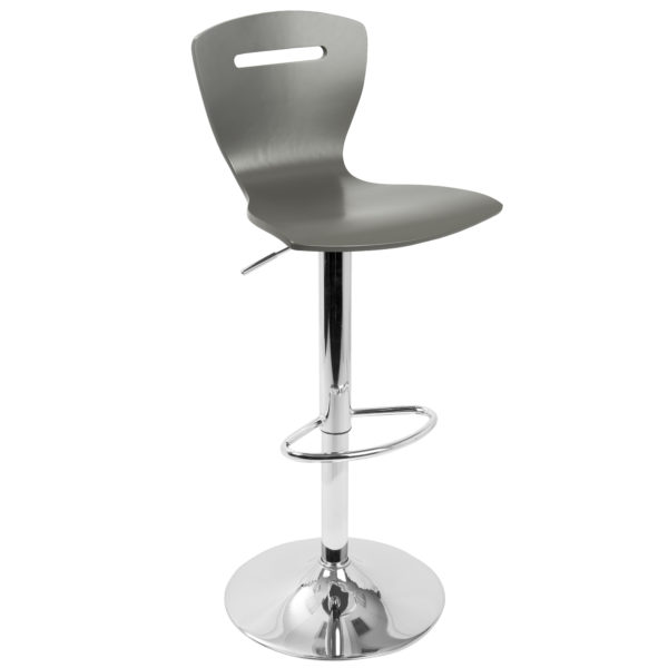 H2 Bar Stool Grey Affordable Portables