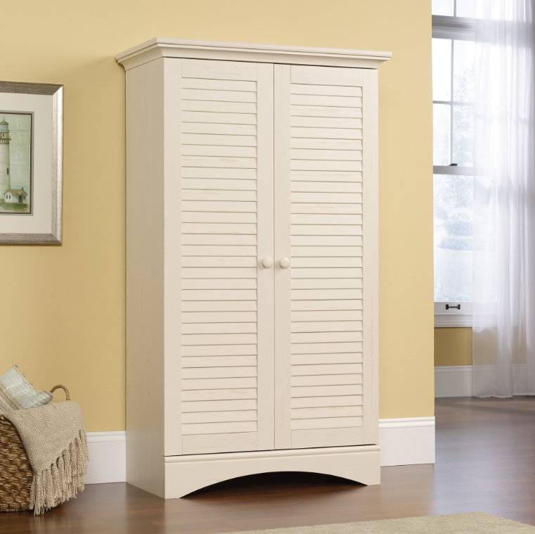 Harbor View Storage Cabinet White Affordable Portables
