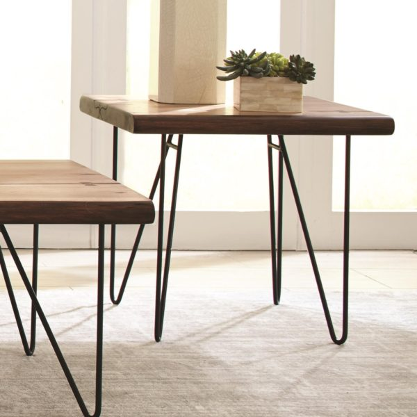 Live Edge End Table Affordable Portables