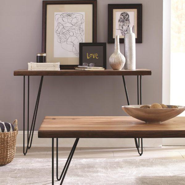 Live Edge Sofa Table Affordable Portables