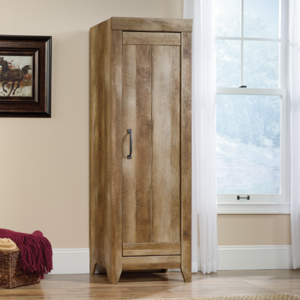 Narrow Storage Cabinet Oak Affordable Portables