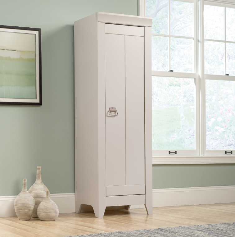 Narrow Storage Cabinet Gray Affordable Portables