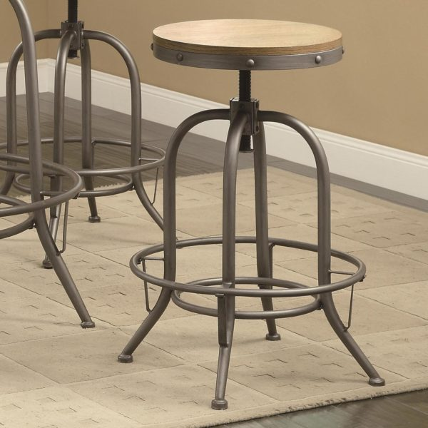 Adjustable Bar Stool Affordable Portables