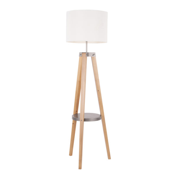 Compass Shelf Floor Lamp Affordable Portables
