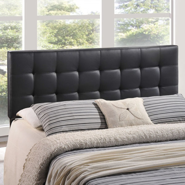 Lily Headboard Black Affordable Portables