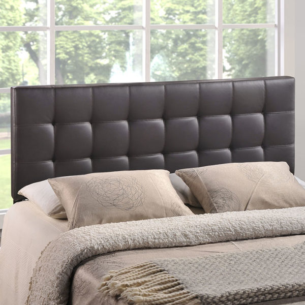 Lily Headboard Brown Affordable Portables