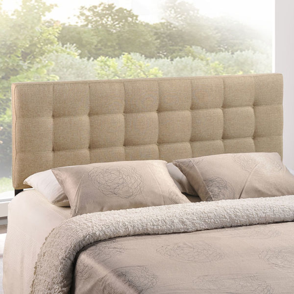 Lily Headboard Beige Affordable Portables