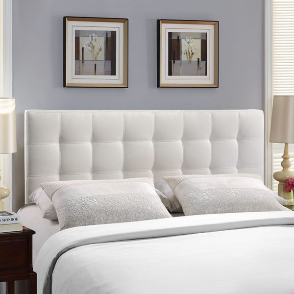 Lily Headboard White Affordable Portables
