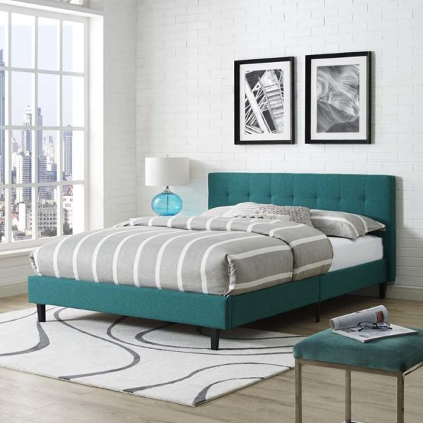 Bed Teal Affordable Portables Chicago