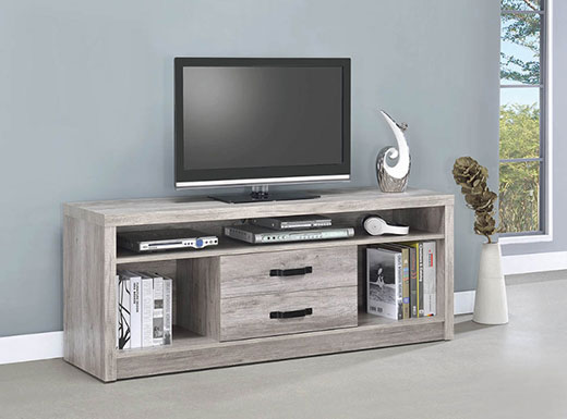 Driftwood TV Console Affordable Portables Chicago
