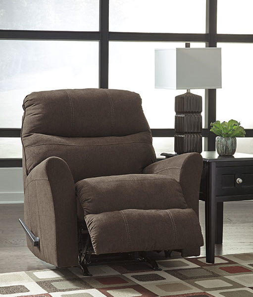 Recliner Brown Affordable Portables