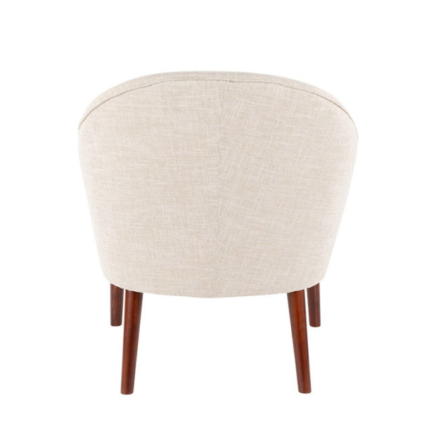 Bacci Accent Chair Oatmeal Back Affordable Portables
