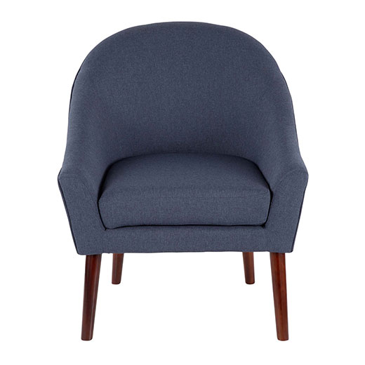 Bacci Accent Chair Blue Affordable Portables