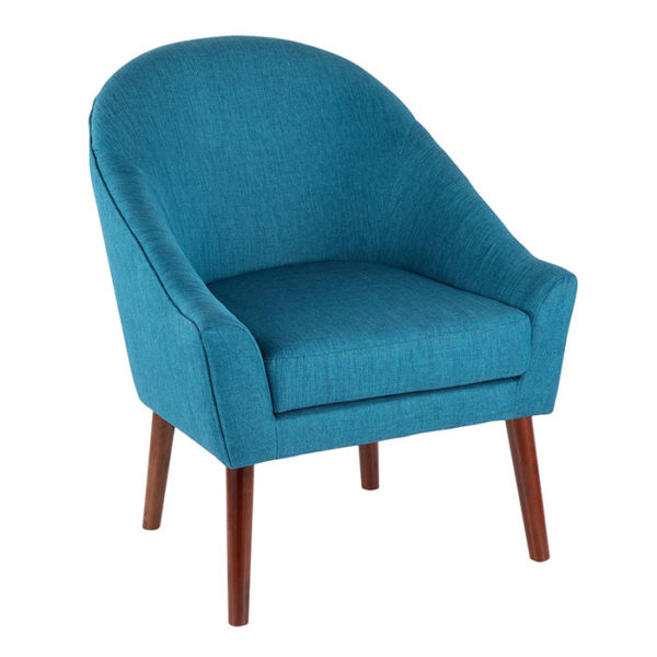 Bacci Accent Chair Teal Affordable Portables