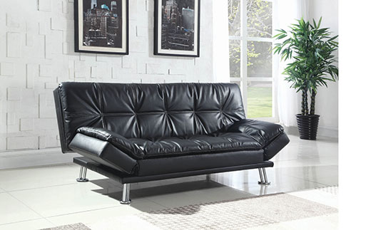 Dilleston Black Sofa Bed Affordable Portables