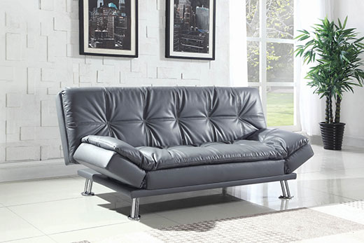 Dilleston Grey Sofa Bed Affordable Portables